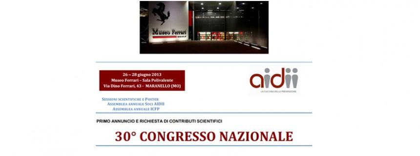 30° Congresso Nazionale di Igiene Occupazionale
